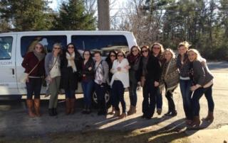 Traverse City wine tour group