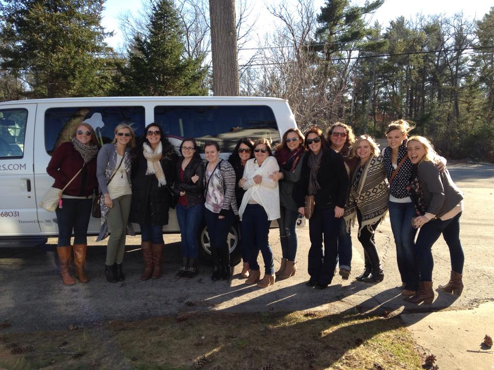 Traverse City wine tour group