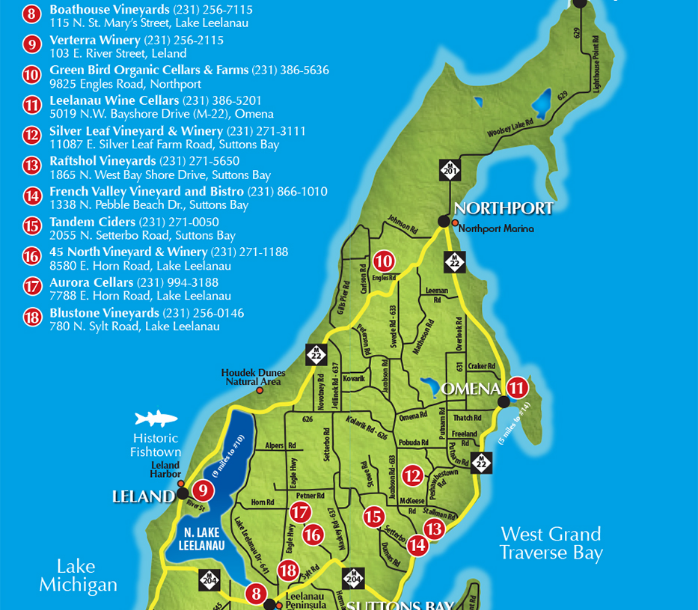 Old Mission Tours- A Look At Leelanau Peninsula's Northern ... on