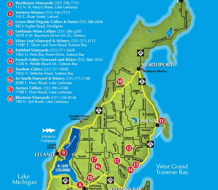 Old Mission Tours A Look At Leelanau Peninsula S Northern Loop Of