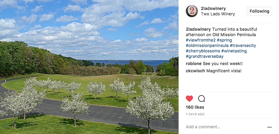 Stay Connected To Old Mission On Instagram - Traverse City